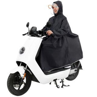 送料無料!二重つば 取り外せる レインコート  ポンチョ 自転車 バイク に(レインコート)