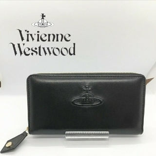 ヴィヴィアンウエストウッド(Vivienne Westwood)の【新品・本物】VivienneWestwood 長財布 ブラック(財布)
