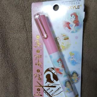 ディズニー(Disney)のスティック型プリンセスハサミ(はさみ/カッター)