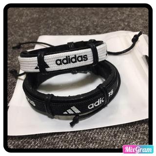 アディダス(adidas)のadidas アディダス バングル2個セット(バングル/リストバンド)