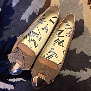 ランバンオンブルー(LANVIN en Bleu)のランバン バレエシューズ ローファー(ローファー/革靴)