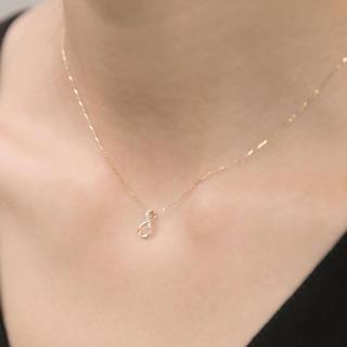 ジュピターゴールドレーベル(jupiter GOLD LABEL)のジュピター インフィニティ ダイヤ ネックレス (ネックレス)