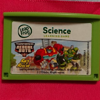 Leappad ソフト Transformers Rescue Bots(知育玩具)