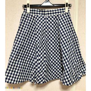 デイジークレア(DazyClair)のギンガムチェックフレアスカート(ひざ丈スカート)