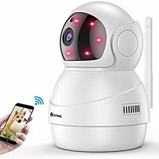 【最新改良版】 ネットワークカメラ wifi 小型 監視カメラ 1080P(防犯カメラ)