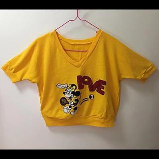 Disney - *出品停止間近* レア サガラ刺繍 半袖 トレーナー