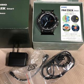 カシオ(CASIO)のCASIO PROTREK スマートウォッチ WSD-F20(腕時計(デジタル))
