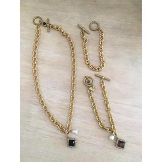 ザラ(ZARA)のZARA ネックレス & ブレスレット セット(ネックレス)