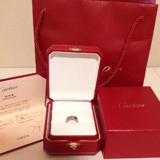 カルティエ(Cartier)のカルティエ  WG  ラブリング(リング(指輪))