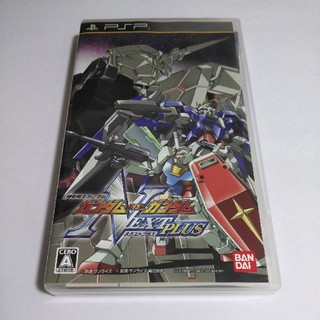 プレイステーションポータブル(PlayStation Portable)のPSP ガンダムvsガンダム ネクストプラス(携帯用ゲームソフト)