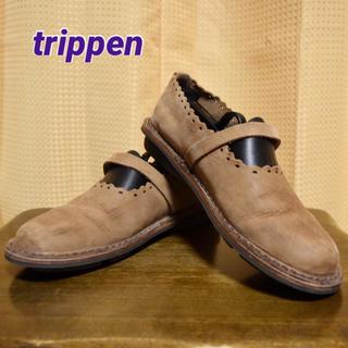 トリッペン(trippen)のTRIPPEN☆フラットシューズ☆サイズ37☆トリッペン(ローファー/革靴)