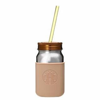スターバックスコーヒー(Starbucks Coffee)のスターバックス ステンレスジャータンブラー ブラウン 473ml  茶(タンブラー)