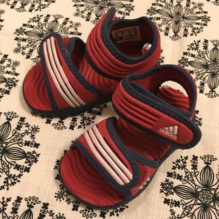 アディダス(adidas)の【adidas アディダス サンダル】キッズ12cm(サンダル)