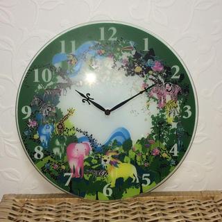 フランフラン(Francfranc)のフランフラン Francfranc ガラス製 壁掛け時計 ホラグチカヨ(掛時計/柱時計)