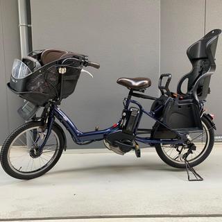 ヤマハ(ヤマハ)のヤマハ PAS kiss mini ナイトサファイア/OGK後ろ子供乗せ付き(自転車本体)