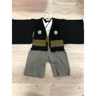 袴ロンパース 95 新品★未使用(和服/着物)