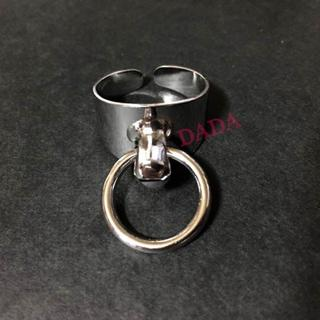Oリング デザイン リング シルバー(リング(指輪))