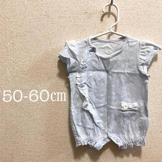 シマムラ(しまむら)のロンパース♡50-60㎝♡女の子♡夏服♡新生児♡(ロンパース)