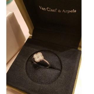 ヴァンクリーフアンドアーペル(Van Cleef & Arpels)のヴァンクリーフアーペル スイートアルハンブラ ダイヤモンドリング(リング(指輪))