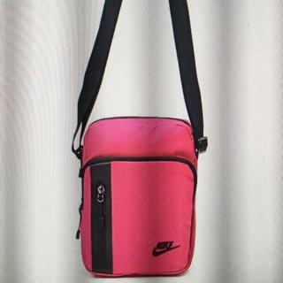 ナイキ(NIKE)のピンク nike ナイキ ショルダーバッグ バック ウエスト pink 新品(ショルダーバッグ)