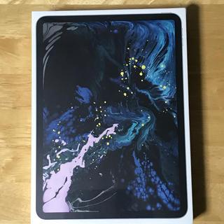 アップル(Apple)の新品未開封 新型iPad Pro 11 2018 Wi-Fiモデル シルバー(タブレット)
