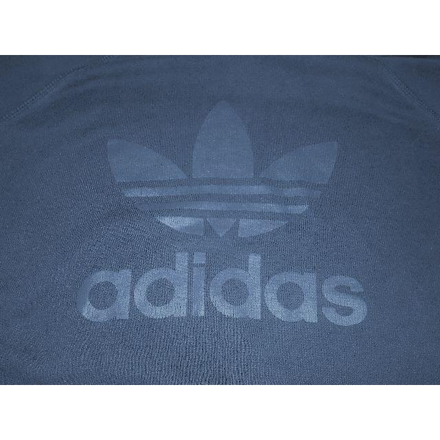 adidas(アディダス)のP013  アディダス スウエット パーカー ビックロゴ レア物  メンズのトップス(パーカー)の商品写真