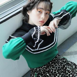 ジーヴィジーヴィ(G.V.G.V.)のTrinca unplusun トリンカアンプリュアン 付け襟 付け袖 セット(つけ襟)