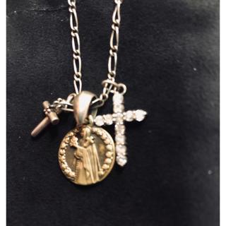 オールセインツ(All Saints)のSAINTSマリア、クロス、ネックレス(ネックレス)