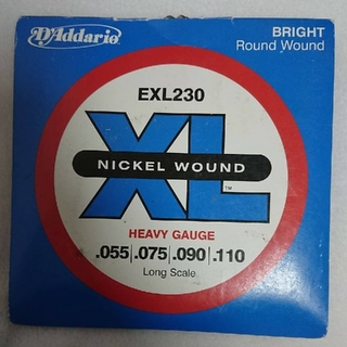D'Addario EXL230 ベース弦 新品未使用(弦)