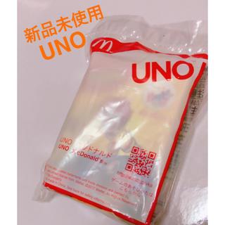 マクドナルド(マクドナルド)の【新品未使用】UNO(トランプ/UNO)