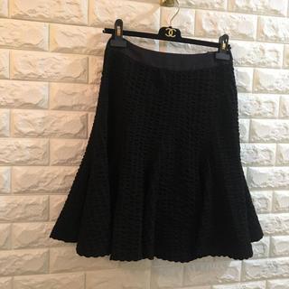 コトゥー(COTOO)のCOTOO コトゥー フレアスカート 38(ひざ丈スカート)