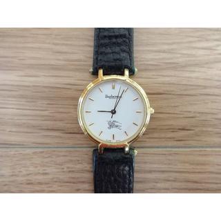 バーバリー(BURBERRY)の【即購入可】BURBERRY 腕時計(レザーベルト)