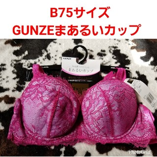 グンゼ(GUNZE)のGUNZE Tuche 気品漂うブラジャー B75「まあるいカップ」定2160(ブラ)