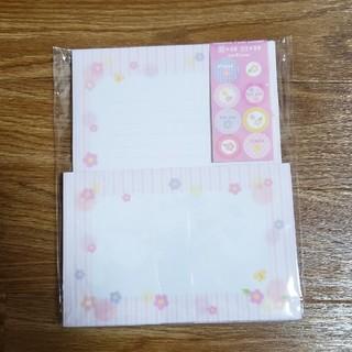 5-5 花柄 レターセット(カード/レター/ラッピング)