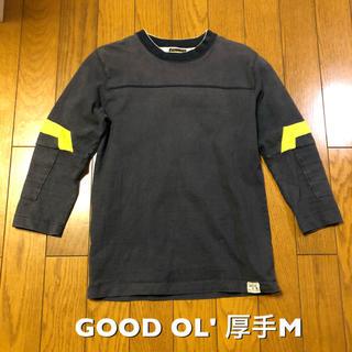 グッドオル(GOOD OL')のMサイズ!日本製グッドオル GOOD OL' 古着厚手七分袖フットボールTシャツ(Tシャツ/カットソー(七分/長袖))