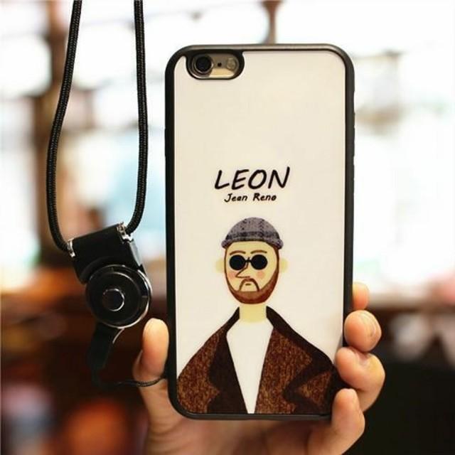 ♡かわいい♡レオンiPhoneケースの通販 by すなふきん's shop|ラクマ