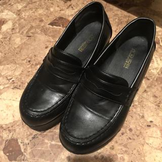 ナイスクラップ(NICE CLAUP)のNICE CLAUP 厚底 ローファー(ローファー/革靴)