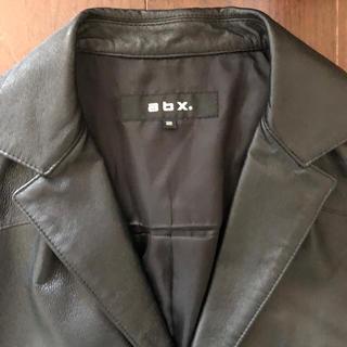 エービーエックス(abx)のメンズ  abx ブラック レザージャケット(レザージャケット)