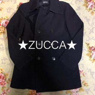ズッカ(ZUCCa)の★ZUCCa★ ピーコート ネイビー 冬物セール(ピーコート)