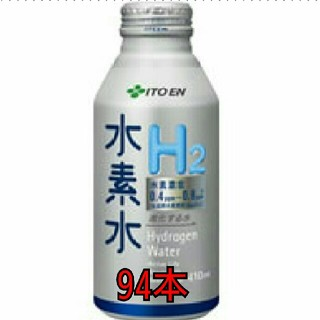 イトウエン(伊藤園)の伊藤園 水素水 410mlボトル缶94本  A(ミネラルウォーター)