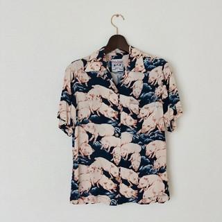 ステュディオダルチザン(STUDIO D'ARTISAN)の【冬季限定価格】百豚 アロハシャツ(シャツ)