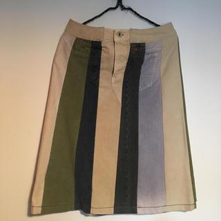 ティグルブロカンテ(TIGRE BROCANTE)の天空丸スカート(ひざ丈スカート)