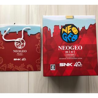 エスエヌケイ(SNK)の新品 未使用 NEOGEO mini クリスマス限定 (家庭用ゲーム本体)