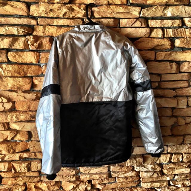 TENDERLOIN(テンダーロイン)のテンダーロイン レーシングジャケット 銀 メンズのジャケット/アウター(ナイロンジャケット)の商品写真
