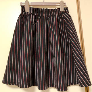 ローリーズファーム(LOWRYS FARM)のLOWRYSFARMストライプスカート(ミニスカート)