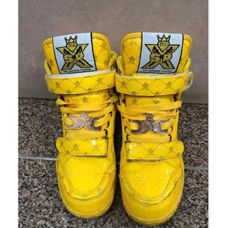エスピーエックス(SPX)のSPX 黄色 スニーカー(スニーカー)