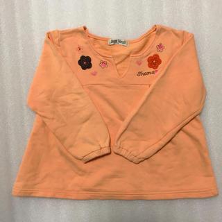 シャマ(shama)のShama Maruta*チュニック型お花トレーナー*110(Tシャツ/カットソー)