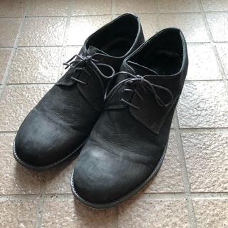 パドローネ(PADRONE)のPADRONE レザーシューズ 42 ブラック パドローネ(ドレス/ビジネス)