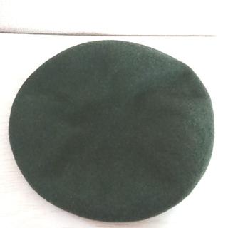 ベレー帽★グリーン(ハンチング/ベレー帽)