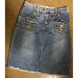 シュカ(shuca)のshuca グローバルワーク デニムスカート 台形スカート(ひざ丈スカート)